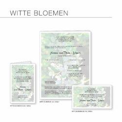 Rouwserie, Witte Bloemen, drukkerij
