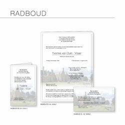 Rouwserie, Radboud, drukkerij